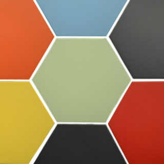Hexogonal Ceramic Tiles