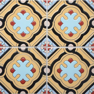 Corner: 95A-04-15 3D Andalusia Tile