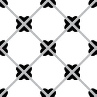 4180-20x20 cm Patterned Ceramic Tile