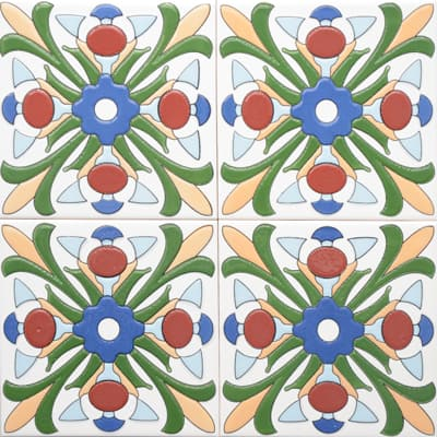 Corner: 95A-38-15 3D Andalusia Tile