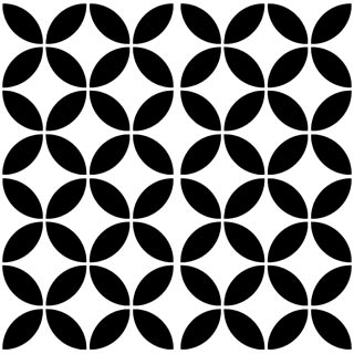 4080-20x20 cm Patterned Ceramic Tile