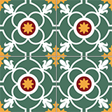 4450 20x20 cm Patterned Ceramic Tile