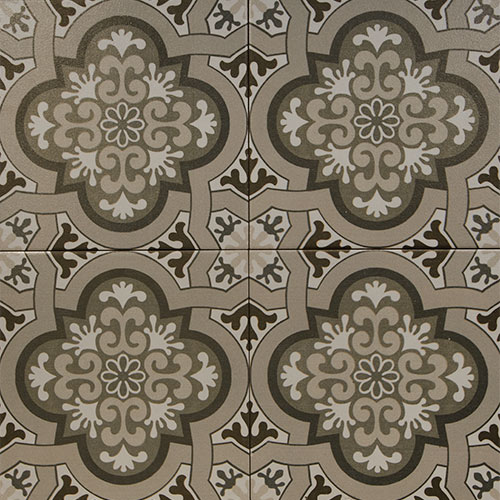 Casablanca 20x20 cm Patterned Ceramic Tile