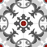 4070-20x20 cm Patterned Ceramic Tile