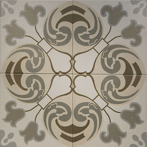 Toledo 20x20 cm Patterned Ceramic Tile