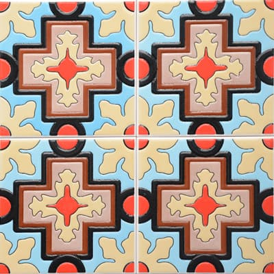 Corner: 95A-24-15 3D Andalusia Tile