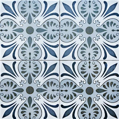 Murcia 20x20 cm Patterned Ceramic Tile