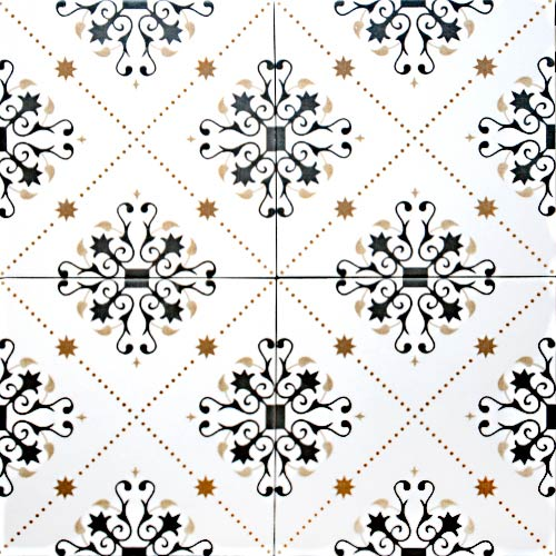 Marrakesh 20x20 cm Patterned Ceramic Tile