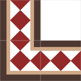 4820 20x20 Patterned Ceramic Tile
