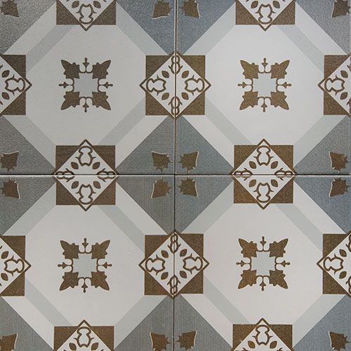 Huelva 20x20 cm Patterned Ceramic Tile
