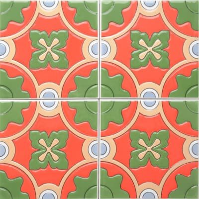 Corner: 95A-07-15 3D Andalusia Tile