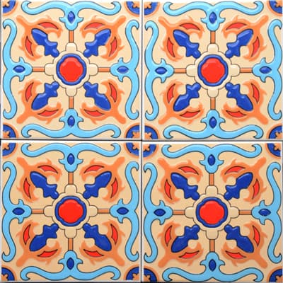 Corner: 95A-19-15 3D Andalusia Tile