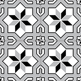 4280-20x20 cm Patterned Ceramic Tile