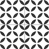 4090-20x20 cm Patterned Ceramic Tile