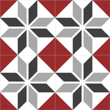 4140-20x20 cm Patterned Ceramic Tile