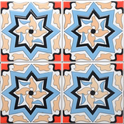 Corner: 95A-36-15 3D Andalusia Tile